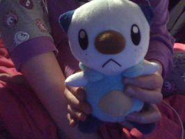 my oshawott toy by bluebubblepop