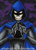 Raven [Day 25] by sambeawesome