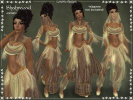 Shahrazad Outfit -GOLD- by Elvina-Ewing