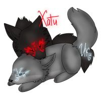Hati and Iki by Settisa