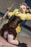 Steampunk Seras Victoria 10 by Insane-Pencil
