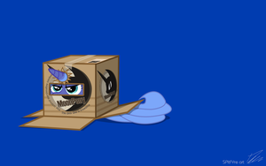 Luna Box Simple by centerdave77