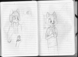 180 Notebook- Pages 94 and 95 by FoxTone
