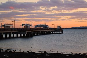 Woody Point jetty - sunset by wildplaces