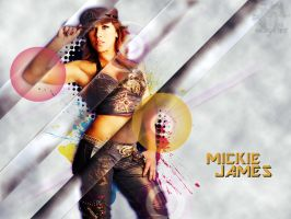 Mickie James by Kev1Production