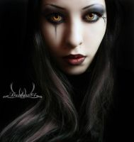 dark makeup by darkart84