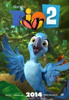 Rio 2 Poster ft Bia by MelySky