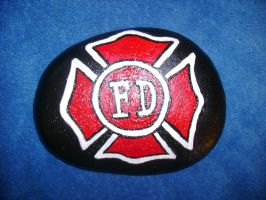Fire Dept Rock by AmandaFerguson070707