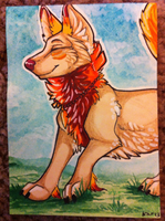 Iron Artist Challenge ACEO 24 by nightspiritwing