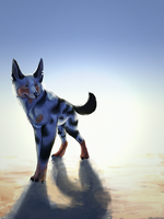 it is a dog by Silvadruid