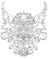 Coat of Arms :: Crest by xerothera