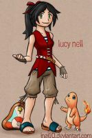 PKMN Trainer Lucy Nell by Inai10