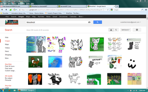 My Art is on...Google? XD by MossySparkle