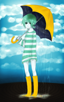 I carry the rain on my shoulders by mchlsu