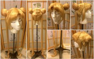 Usagi Tsukino wig from Sailor Moon by taiyowigs