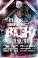 Mike's BDAY Bash by V1sualPoetry