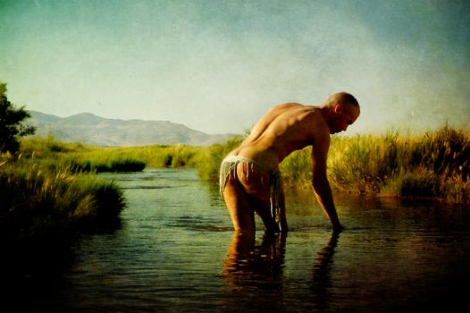 The Bather by 3feathers