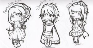 .:Vocaloid Chibi's WIP1:. by alexpc901