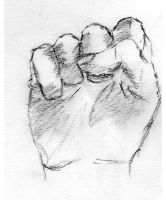 Fist Sketch. by SoSpian