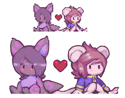 Nystre and Rokkan by Rokkan-Illidian