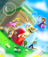 Super Mario 3D World by Kincello