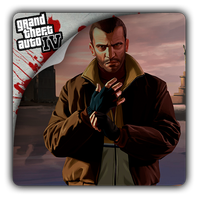 Grand Theft Auto IV icon by Themx141
