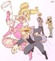 Magical girl France VS The company president's son by Kelissa