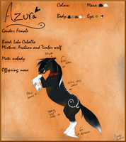 Azura reference sheet by Iris-and-Ebenos