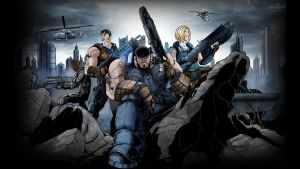 Gears of War: Come Get Some by RogueSamurai