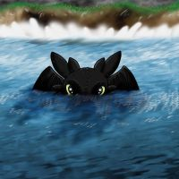 Toothless Water by Circuit5389