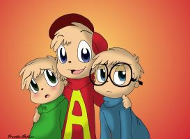 alvin and the chipmunks by cutechipette