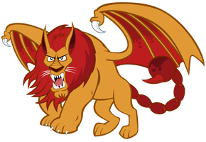 The Manticore by J-Brony