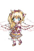 Winged k.mimi chibi-OFFER TO ADOPT (OPEN) by KuroHana-dono