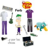 Ferb polyvore set by mexicangirl12