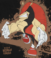 Mighty the Armadillo by BrendanCorris