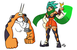 Wanderer's Scarf and Vice Versa by alpha00zero