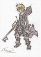 Roxas, The Number XIII - By Felipedsx by Felipedsx