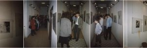 My first individual exhibition in 1990 by schachay