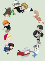 Fruits Basket Collab (Finished) by KC-pixels