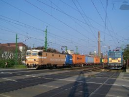 GFR Asea and V63 034 in Gyor in october, 2010 by morpheus880223