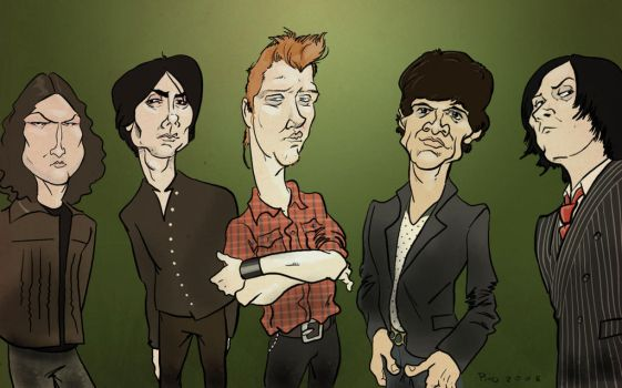 Queens Of The Stone Age by pituman
