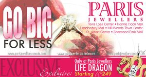 PlayBill Ad: ParisJewellers by SmithByDesign