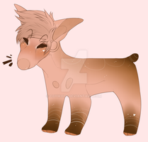 Chocolate Strawberry Pup Auction | Open by c0ywolf