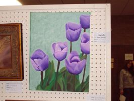 Violet Tulips by xMystery21x