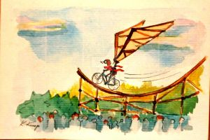 Bicycle 3 by Katois