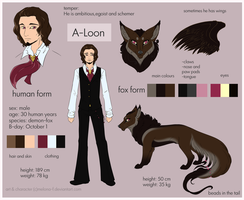A-Loon's refsheet by Melona-F