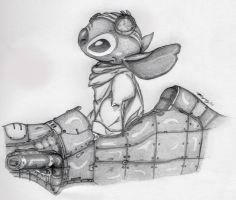 Steampunk Stitch by ShadowHyperreal