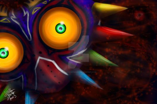 :Majora's Mask: by Y3llowHatMous3