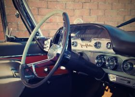 Interier of the old car by TravelingLifestyle