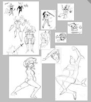 Sketchness May Page2 by AJUST